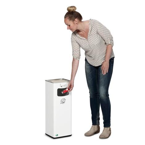 Kombinácia popolčeka VAR®, stojaci model, 31,7 litrov