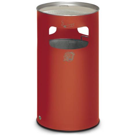Kombinácia popolčeka VAR®, stojaci model, 69,2 litrov