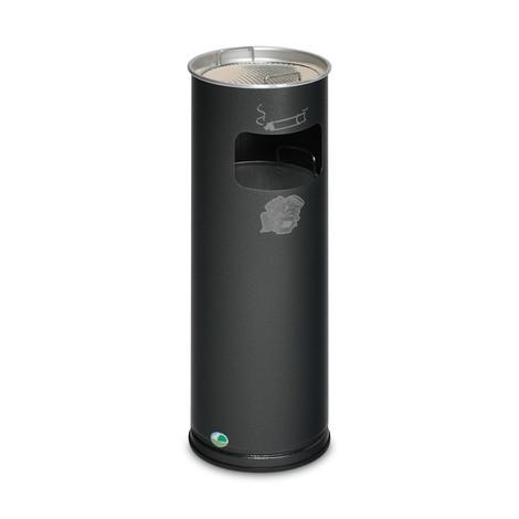 Kombination af askeaffald VAR®, stående model, 16,7 liter