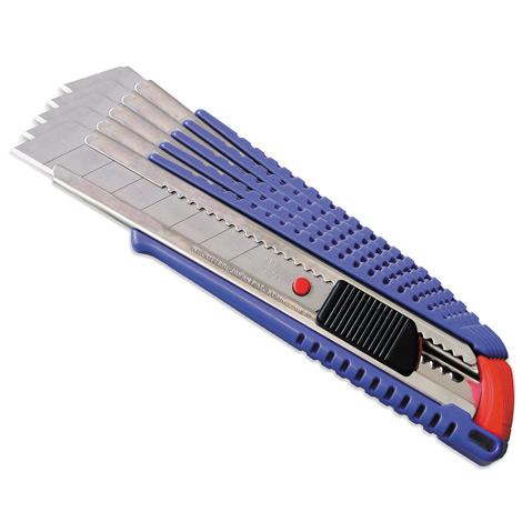 Komfort-Cutter mit 9mm Abbrechklinge, blau