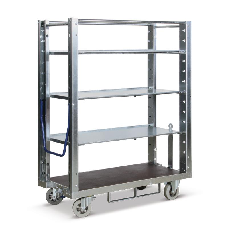 Kommissionierwagen. Tragkraft 600 kg