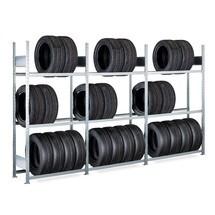 Komplet pakke dæk rack SCHULTE