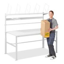 Komplet pakkebordssæt, med højdeindstilling