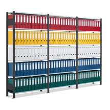 Kompletny pakiet półki na dokumenty SCHULTE, jednostronny