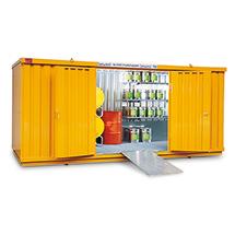 Komplettangebot Umweltcontainer WGK, Auffangvolumen 1480 Liter