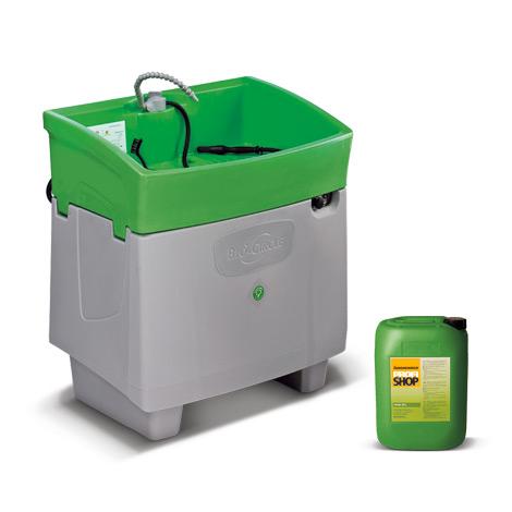 Komplettpreis Reinigungstisch BIO-CIRCLE PROFI + Befüllung
