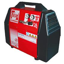 Kompressor für Kartonerschließmaschine, vollautomatisch