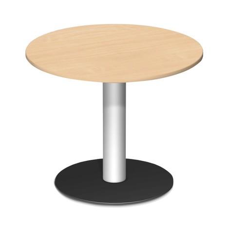 Konferencebord runde med pladebund