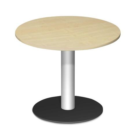 Konferenztisch rund mit Tellerfuß