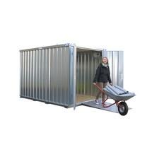 kontejner na sádrokarton, konstrukční výška 2.100 mm
