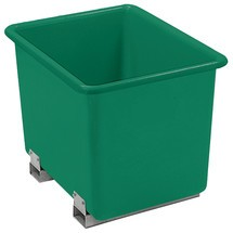 kontener prostokątny CEMO wykonany z GRP, z kieszeniami na wózki widłowe
