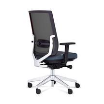Kontorsvridbar stol MONICO® OS, ryggstöd i mesh