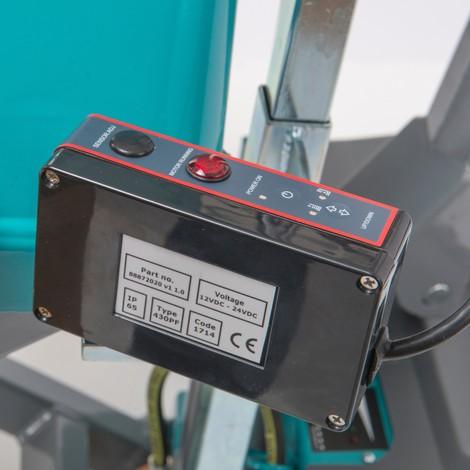 Kontrola pozycji dla elektrohydraulicznego wózka paletowego zpodnośnikiem nożycowym Ameise®