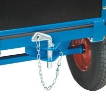 Koppeling, achteraan voor zware handbakwagen fetra®