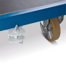 Koppeling voor transportkarren Rotauro