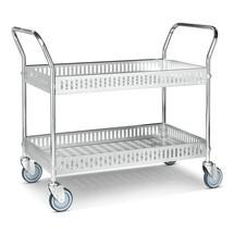 Košíkový vozík, kompletně pozinkovaný