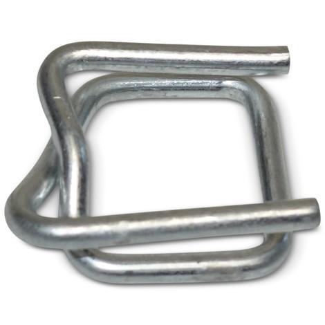 Kovové spony a pevnostní vázací pásku PET