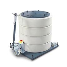Kraanvering (3-wielige versie) voor de zwenkkraan VETTER inclusief ELECTROLIFT elektrische kettingtakel