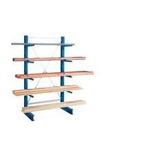Kragarmregal META Anbaufeld, einseitig, Tragkraft pro Arm bis 220 kg