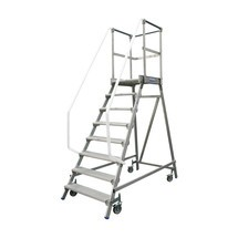 KRAUSE® platform ladder, mobile