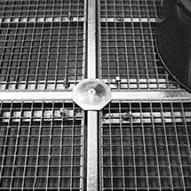 Kreuzverbinder für Auffangwanne aus Polyethylen