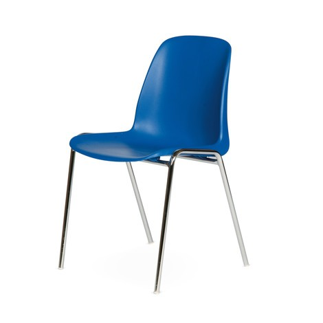 krzesło dla gości BASIC, możliwość układania w stosy