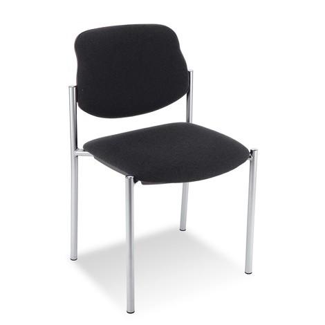 krzesło dla gości Styl z oparciem na poduszce