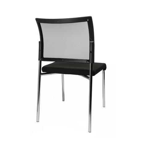 Krzesło dla gości Topstar® Classic z oparciem z siatki