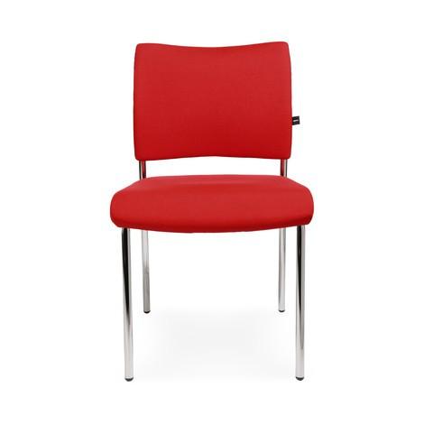 Krzesło dla gości Topstar® Classic z tapicerowanym oparciem