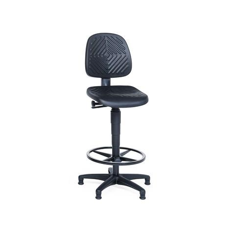 Krzesło obrotowe z pianki PU