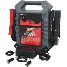 KS Tools 12 V + 24 V Batterie-Booster - mobiles Starthilfegerät 1400 A