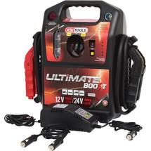 KS Tools 12 V + 24 V Batterie-Booster - mobiles Starthilfegerät 1700 A