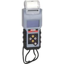 KS Tools 12V Digital-Batterie- und Ladesystemtester mit integriertem Drucker