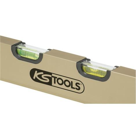 KS TOOLS Aluminiumprofil-Wasserwaage mit Feinausrichtung