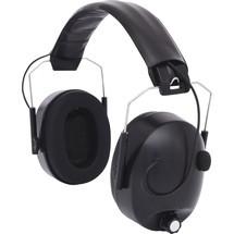 KS TOOLS Elektronischer Kapselgehörschutz mit Kopfbügel - schwarz