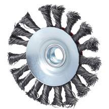 KS TOOLS Kegelform-Stahldrahtrundbürste 0,5 mm