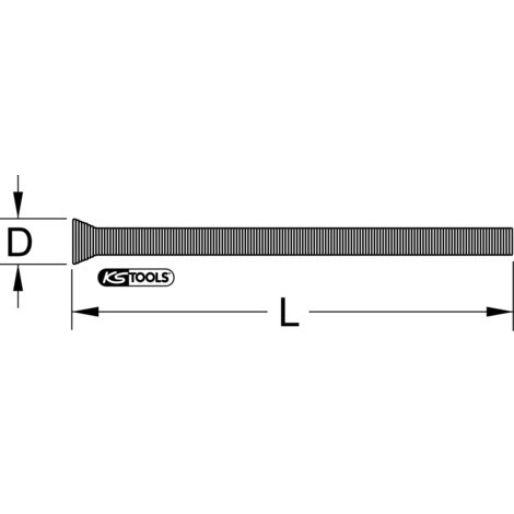 KS TOOLS Kupferrohr-Außenbiegefeder, Zollmaße