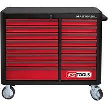 KS Tools MASTERline Werkstattwagen mit 16 Schubladen