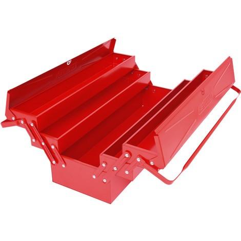 KS TOOLS Stahlblech-Werkzeugkasten, 5 Fächer