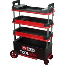 KS TOOLS TOOLBOX Werkzeugwagen / Montagewagen, absenkbar und verschließbar