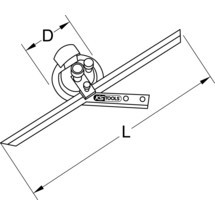 KS TOOLS Universal-Winkelgradmesser