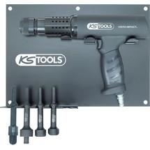 KS Tools Vibro-Impact Druckluft-Meißelhammer-Satz
