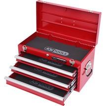 KS Tools Werkzeugtruhe mit 3 Schubladen - rot
