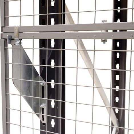 Kürzungsprofil für Maschinen-Schutzgitter TROAX®