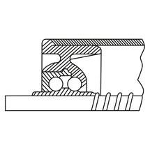 Kunststof draagrollen. Lager: thermoplastische kunststof, stalen kogelrijen