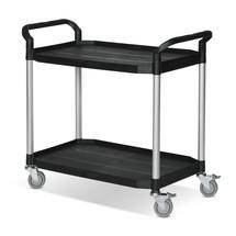 Kunststof etagewagen BASIC met 2 laadvlakken