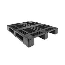 Kunststof pallets CRAEMER van HDPE. Type D1-ECO. LxBxH mm: 1200x800x150