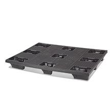 Kunststoff-Industrie-Palette BASIC.Nestbare Ausführung. LxBxH mm: 1200x1000x145