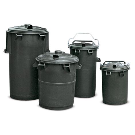 Kunststoff-Mülltonne. 35 - 110 Liter