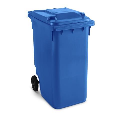 Kunststoff-Mülltonne mit Rollen